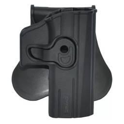 Canana pistolas CZ P-07 y P-09 en polímero negro con seguro anti extracción